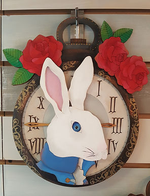 White Rabbit Pocket Watch