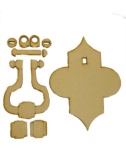 Ornamental Door Knocker