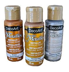 Metallics Acrylics