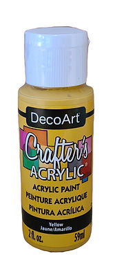Yellow Acrylic Paint