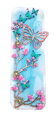 Butterfly Plaque