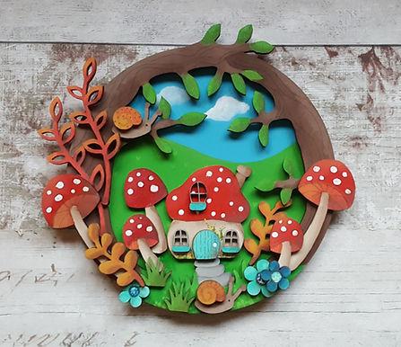 Gnome House Plaque