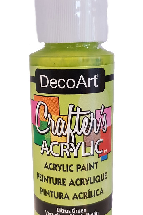Citrus Green Acrylic Paint