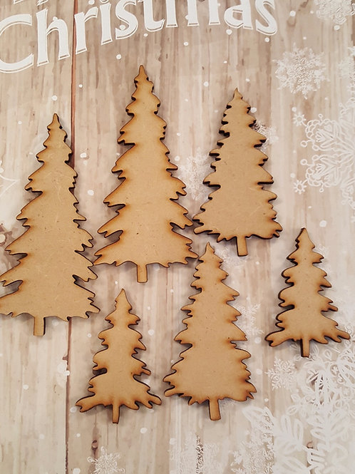 MDF  Xmas Trees for crafting and altered art projects