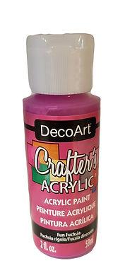 Fun Fuchsia Acrylic Paint