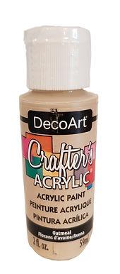 Oatmeal Acrylic Paint
