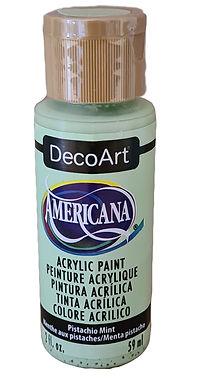 Pistachio Mint Americana Acrylic Paint