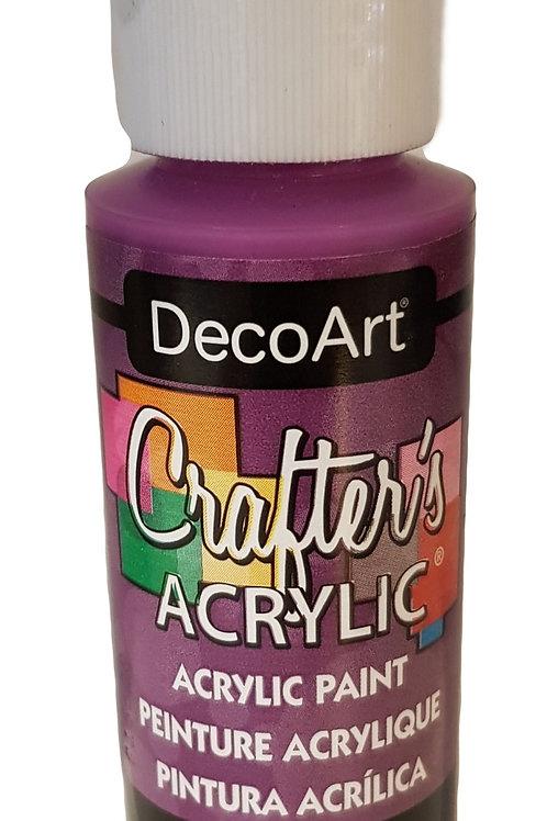Deep Magenta Acrylic Paint