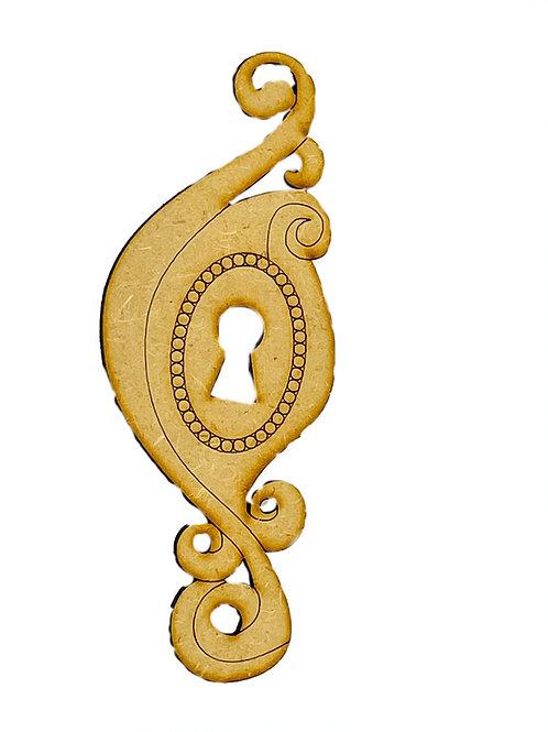 Large Ornamental Keyhole