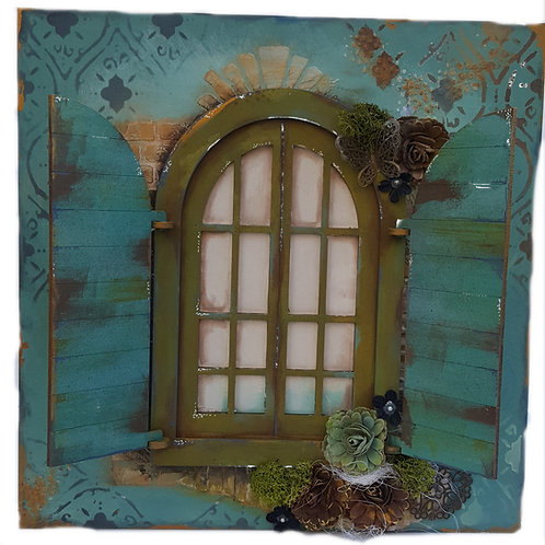Shutter Window Plaque