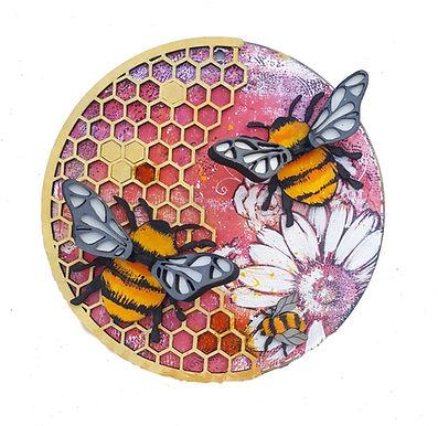 Bee Plaque