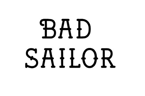 BAD SAILOR FONT 2cm