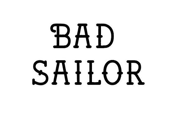 BAD SAILOR FONT