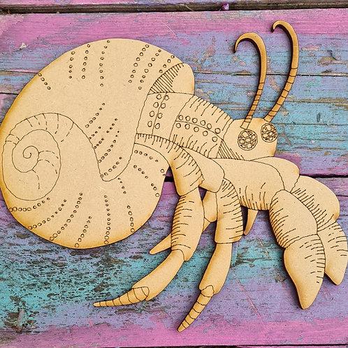 Steampunk Hermit Crab