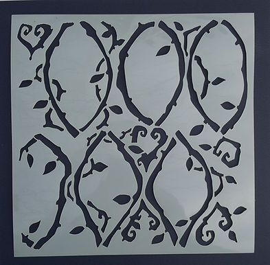 Tangled Vine Stencil