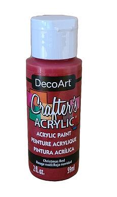 Xmas Red Acrylic Paint