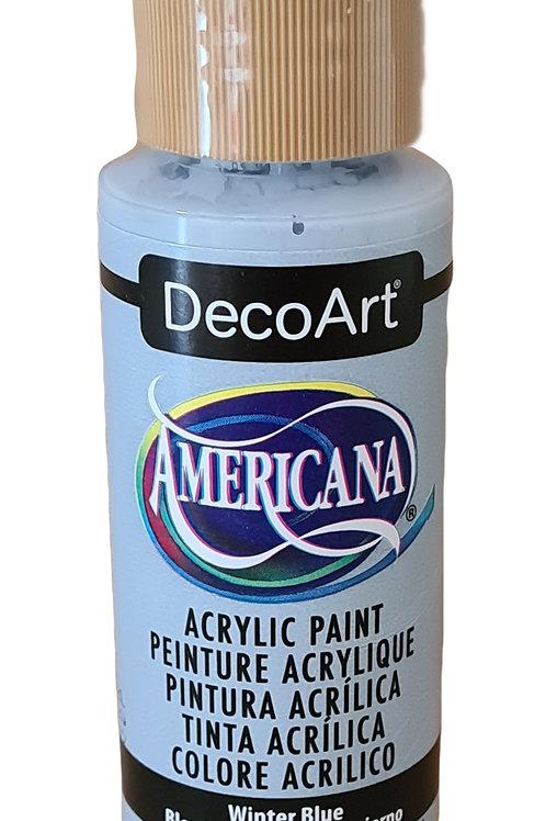 Winter Blue Americana Acrylic Paint