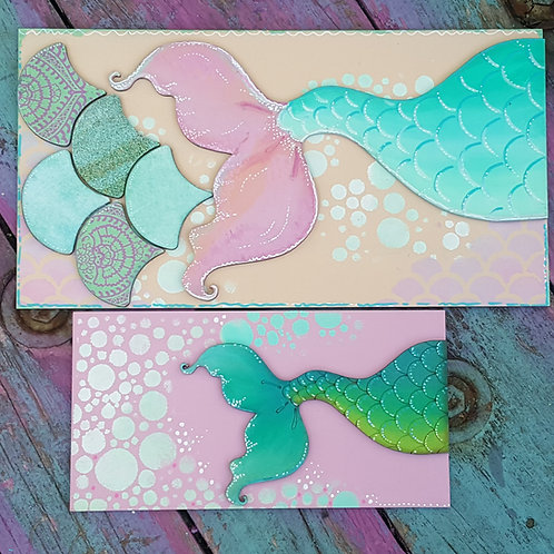 Mermaid Tail Plaques 2