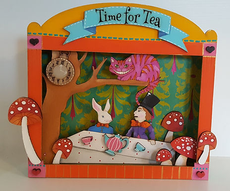 Madhatters Tea Party Box Frame