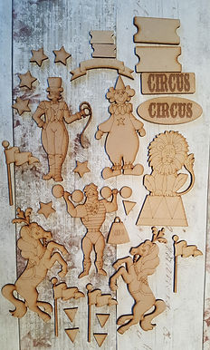 Circus Embellishments