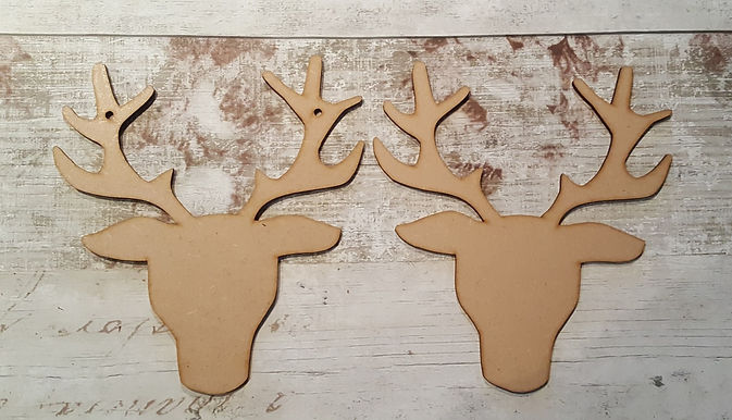Large Front Facing Stag Head