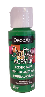 Holiday Green Acrylic Paint
