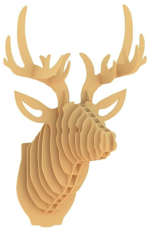 3D Stags Head