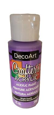 Bright Purple Acrylic Paint