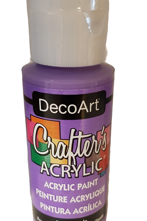 Bright Purple Acrylic Paint