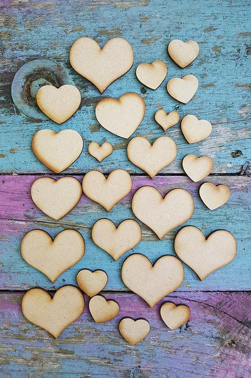 Mixed Bag of Hearts