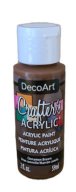 Cinnamon Brown Acrylic Paint