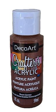 Burnt Sienna Acrylic Paint