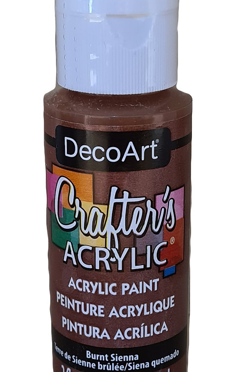 Burnt Sienna Acrylic Paint