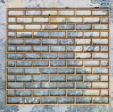 MDF Brick Panel
