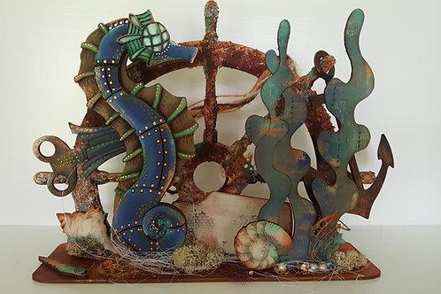 Freestanding 3D Seahorse Kit