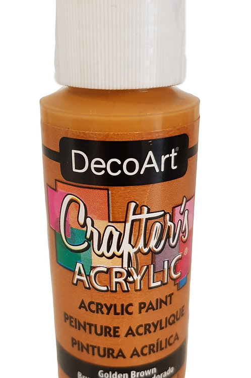 Golden Brown Acrylic Paint