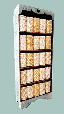 Advent Bookcase