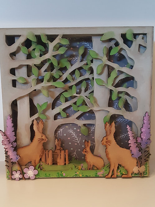 Hare Box Frame