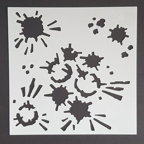 Big Splat 1 Stencil