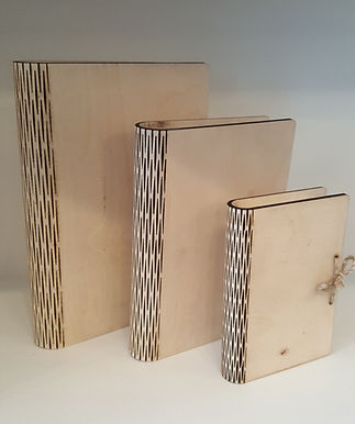 Rectangular Bookboxes (Round Spine)