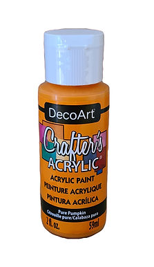 Pure Pumpkin Acrylic Paint