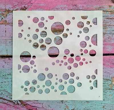 Small Bubbles Stencil