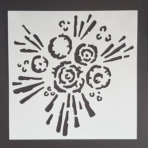 Big Splat 2 Stencil
