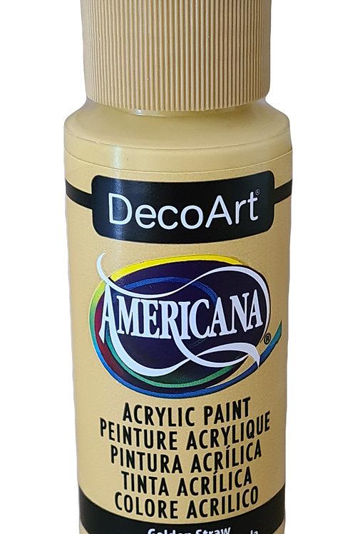 Golden Straw Americana Acrylic Paint