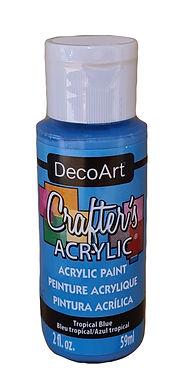 Tropical Blue Acrylic Paint