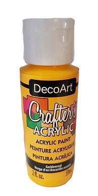 Goldenrod Acrylic Paint