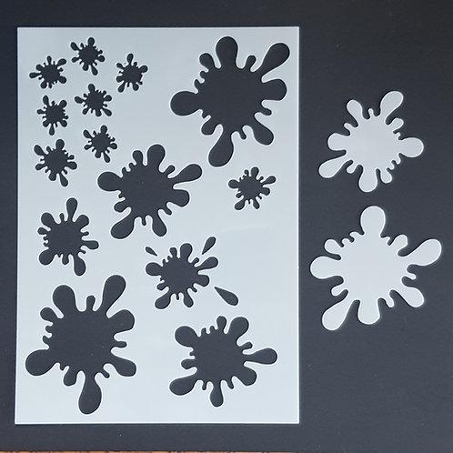 Splat 1 Stencil
