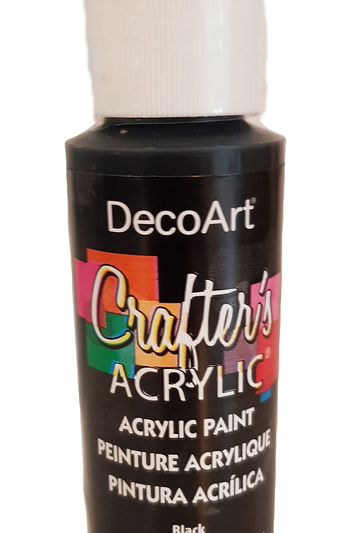 Black Acrylic Paint