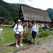 Mother and daughter in Japan
