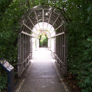 Archway into a secret garden